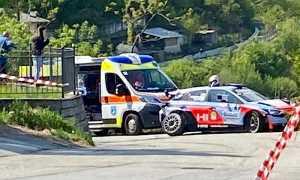 Rally incidente
