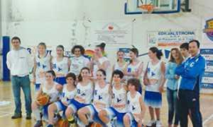 b squadra giovani basket