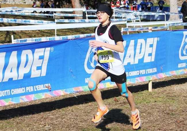 corsa cross Alessia Pozzi