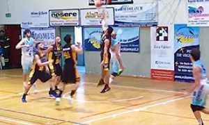 b basket vinavil cipir esordio B