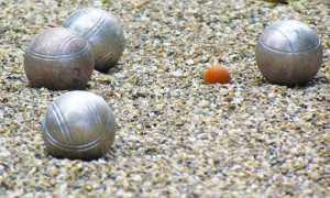 bocce sabbia boccino
